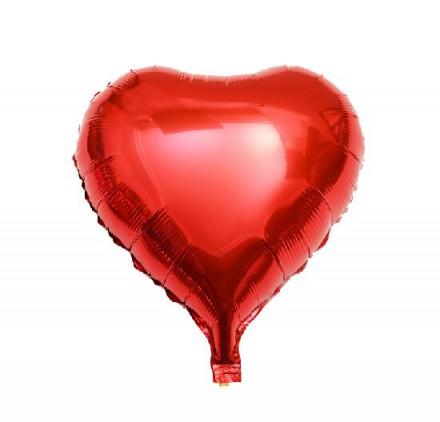 Globus d'heli en forma de cor